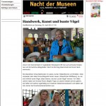 Gabi Maier-Marx auf dem Kunst Herkmarkt in Ingolstadt